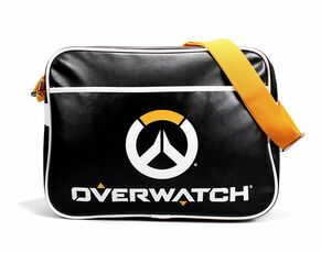 Cartoleria Borsa Tracolla Overwatch. Logo Messenger Bag Half Moon Bay