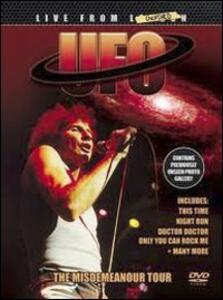 UFO. The Misdemeneanour Tour 1985 - DVD