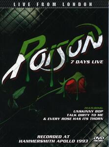 Poison. 7 Days Live - DVD