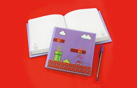 Cartoleria Quaderno Super Mario Bros. 3D Motion Notebook Paladone