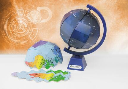 Discovery Channel. Create Your Own Globe