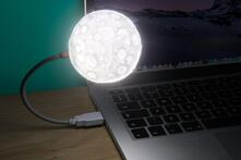 Luce USB per Pc Moon