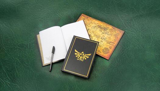 Notebook Legend of Zelda. Hyrule