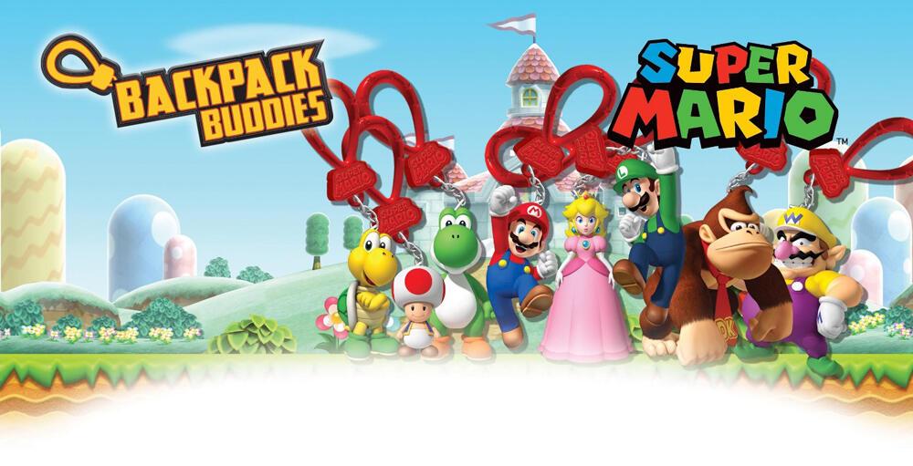 1feecb306d Super Mario Bros.Mystery Bags (Ciondoli Per Zaino) (Assortimento Casuale)