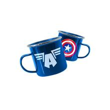 Tazza Metallo Marvel Avengers Captain America