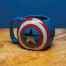 Tazza Sagomata Marvel. Captain America