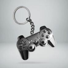 Portachiavi Playstation. 3D Metal Controller
