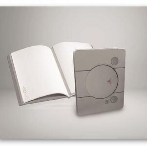 Quaderno Playstation. Psone Console