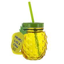 Tazza Da Viaggio Con Cannuccia Pineapple