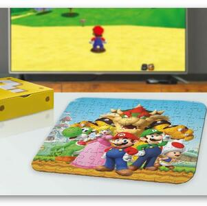 Puzzle 3D Nintendo. Super Mario
