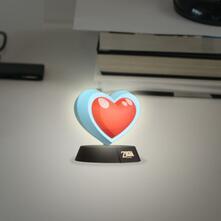 Lampada Zelda. Heart Container 3D