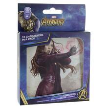 Set Sottobicchieri Lenticolari Marvel Avengers Infinity War