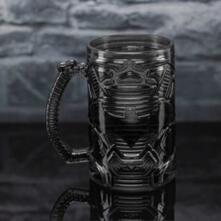 Batman Shaped Glass