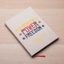 Wonder Woman Canvas Notebook
