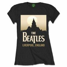T-Shirt Donna The Beatles. Liverpool England