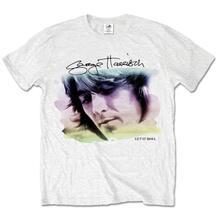 T-Shirt George Harrison Men's Tee: Water Colour Portrait