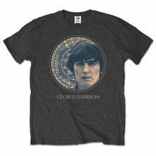 T-Shirt George Harrison Men's Tee: Circular Portrait