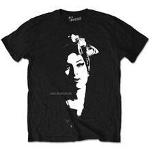T-Shirt unisex Amy Winehouse. Scarf Portrait
