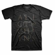 T-Shirt Unisex Alice In Chains. Snakes Black