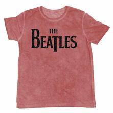 T-Shirt unisex The Beatles. Burn-Out Drop T Logo