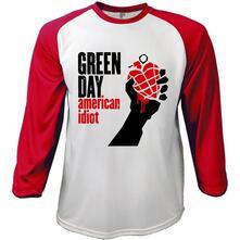 T-Shirt Green Day Men's Tee: American Idiot