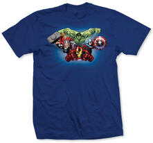 T-Shirt unisex Avengers. Character Fly Blu
