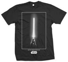 T-Shirt unisex Star Wars. The Force Nero