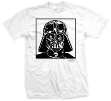T-Shirt unisex Star Wars. Vader 1 Bianco