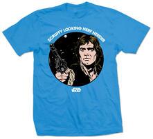 T-Shirt unisex Star Wars. Scruffy Nerf Herder Blu