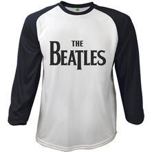 T-Shirt The Beatles Raglan Men's Tee: Drop T Logo
