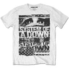 T-Shirt unisex System of a Down. Torn