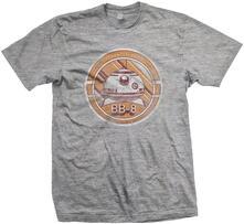 T-Shirt Star Wars Mens Tee: Bb-8 Distress