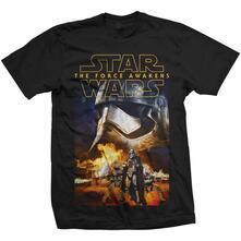 T-Shirt Star Wars Mens Tee: Episode Vii Phasma & Troopers