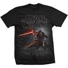 T-Shirt Star Wars Mens Tee: Episode Vii Kylo Ren Crouch