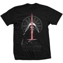 T-Shirt Star Wars Mens Tee: Episode Vii Kylo Ren Shadows