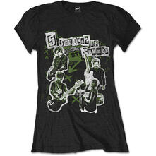 T-Shirt Donna 5 Seconds Of Summer. Live! Collage