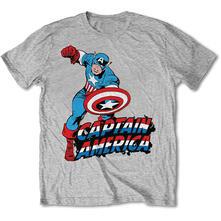 T-Shirt unisex Marvel Comics. Simple Capitan America