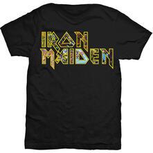 T-Shirt Unisex Iron Maiden. Eddie Logo Black