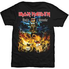 T-Shirt unisex Iron Maiden. Holy Smoke