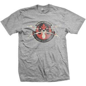 T-Shirt unisex Star Wars Resistance Distress Mens Grey