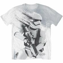 T-Shirt unisex Star Wars Stormtrooper All Over Sub Mens White