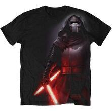 T-Shirt unisex Star Wars Kylo Side Print Sub Mens black