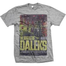 T-Shirt Unisex Studiocanal. Dr Who & The Daleks