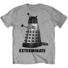 T-Shirt Unisex Studiocanal. Dr Who Exterminate Grey