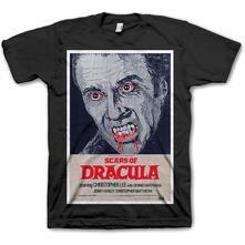 T-Shirt Unisex Studiocanal. Scars Of Dracula Black