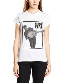 T-Shirt unisex George Ezra. Guitar Skinny