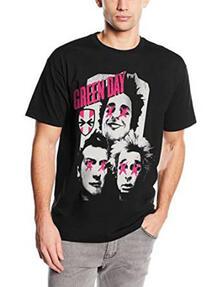 T-Shirt unisex Green Day. Patchwork