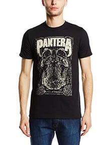 T-Shirt unisex Pantera. 101 Proof Skull