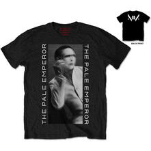 T-Shirt unisex Marilyn Manson. The Pale Emperor