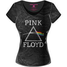 T-Shirt donna Pink Floyd. Acid Wash Vintage Prism